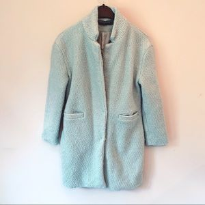 Midnight Macaroon Mint Warm Peacoat Jacket